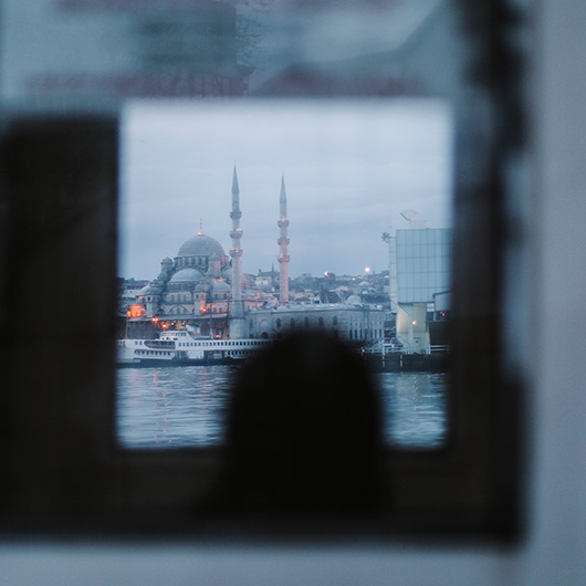 24 hours on the Galata Bridge, Istanbul 1