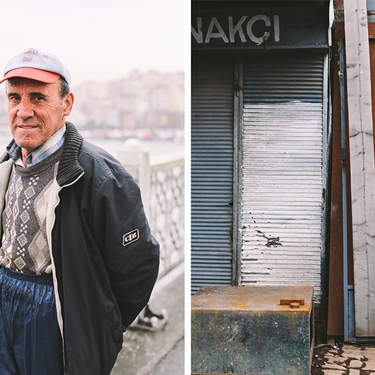 24 hours on the Galata Bridge, Istanbul 11