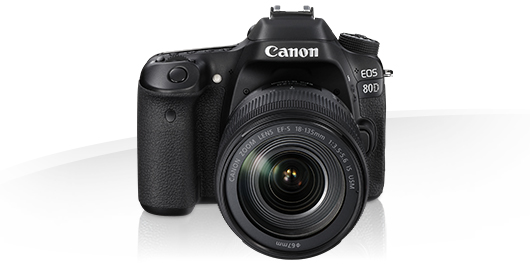 Canon Eos 80d Eos Digital Slr And Compact System Cameras Canon Qatar