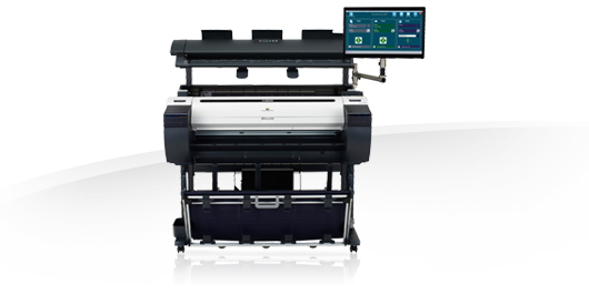 Canon imagePROGRAF MFP M40 Solution - Large format printing and